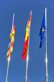 Bandeiras de Protocolary Imagem de Stock Royalty Free