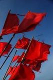 Bandeiras de sinal Fotos de Stock Royalty Free