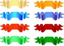 Bandeiras diferentes - ilustração do vetor Fotos de Stock Royalty Free