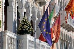 Bandeiras do balcão Imagens de Stock