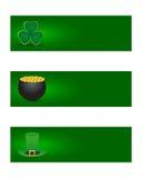 Bandeiras do dia dos patricks do St. Imagem de Stock Royalty Free