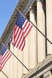 Bandeiras do escritório imagem de stock royalty free