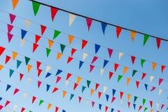 Bandeiras do feriado Imagem de Stock