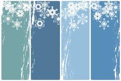 Bandeiras do inverno Foto de Stock