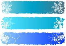 Bandeiras do inverno Imagem de Stock Royalty Free