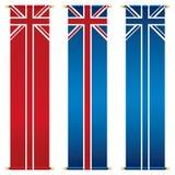 Bandeiras do jaque de união ilustração stock