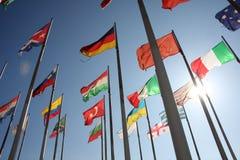 Bandeiras do mundo Imagem de Stock Royalty Free