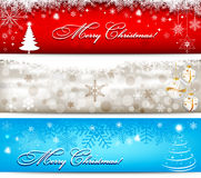 Bandeiras do Natal Foto de Stock Royalty Free