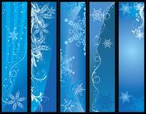 Bandeiras do Natal Foto de Stock Royalty Free