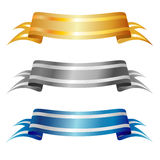 Bandeiras do vetor   Fotografia de Stock