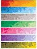 Bandeiras do Web Imagem de Stock Royalty Free