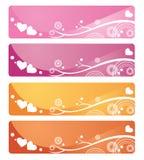Bandeiras do Web Fotografia de Stock Royalty Free