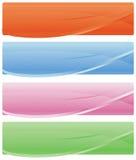 Bandeiras do Web ilustração royalty free