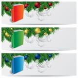 Bandeiras do Web site do Natal ilustração royalty free