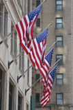 Bandeiras dos E.U. Imagens de Stock Royalty Free