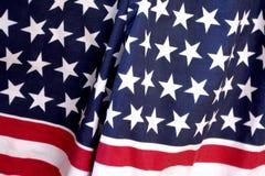 Bandeiras dos EUA Fotografia de Stock