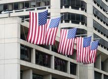Bandeiras dos EUA Fotos de Stock Royalty Free