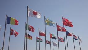 Bandeiras dos países do mundo filme