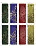 Bandeiras dos Valentim ajustadas Fotografia de Stock