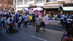 Bandeiras e patriotismo da reunião vídeos de arquivo
