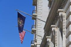 Bandeiras em Utá Imagens de Stock Royalty Free