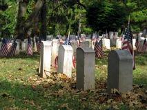 Bandeiras graves Imagens de Stock Royalty Free