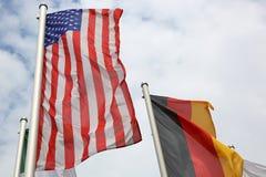 Bandeiras internacionais Imagem de Stock Royalty Free