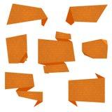 Bandeiras lisas do vetor Foto de Stock Royalty Free