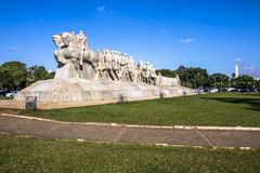 Bandeiras-Monument stockbild