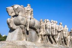 Bandeiras-Monument lizenzfreies stockfoto