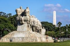 Bandeiras-Monument lizenzfreie stockbilder
