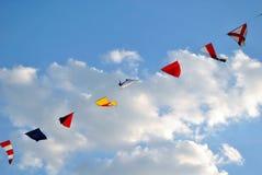 Bandeiras náuticas Fotografia de Stock Royalty Free