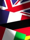Bandeiras nacionais ilustração royalty free