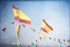 Bandeiras no centro do conference&convention de shenzhen Foto de Stock Royalty Free