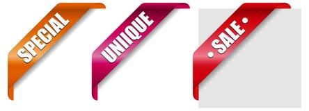 Bandeiras novas 2 Foto de Stock