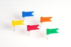 Bandeiras para a nota Imagens de Stock Royalty Free