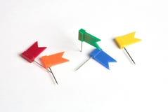 Bandeiras para a nota Imagens de Stock