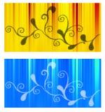Bandeiras principais do Web Fotos de Stock Royalty Free