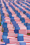 Bandeiras unidas do estado para o evento 9-11 Imagens de Stock Royalty Free