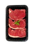 Bandeja da carne do Porterhouse foto de stock royalty free