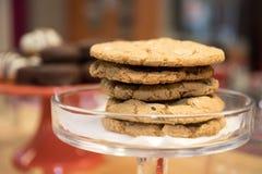 Bandeja da cookie Imagem de Stock Royalty Free