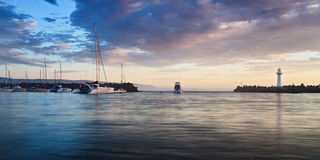Bandeja da elevação do porto de Wollong Fotografia de Stock Royalty Free