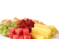 Bandeja da fruta Imagens de Stock Royalty Free