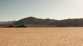 Bandeja da paisagem do Vale da Morte - lapso de tempo - 4K vídeos de arquivo