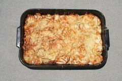 Bandeja das batatas Foto de Stock