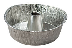 Bandeja de alumínio da torta Fotografia de Stock Royalty Free