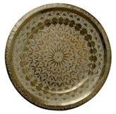 Bandeja de bronze imagens de stock royalty free