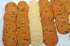 Bandeja de cookies Foto de Stock