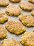 Bandeja de fritos de milho doce Fotos de Stock