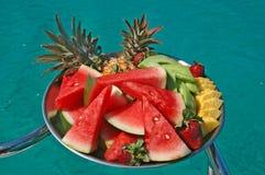Bandeja de fruta Imagen de archivo